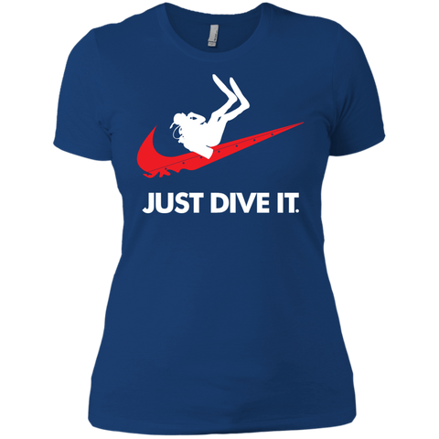 Image of Just Dive It Ladies Tees and V-Neck