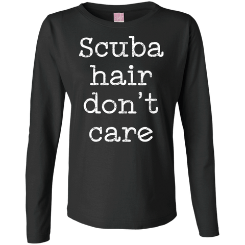 Image of Scuba Hair Don't Care Long Sleeves