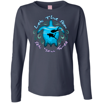 Let The Sea Set You Free Long Sleeves