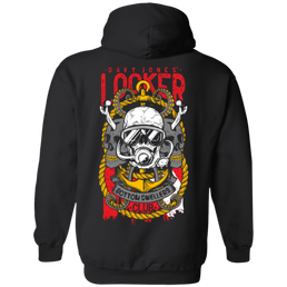 Davy Jones Locker Bottom Dwellers Club Hoodies - scubadivingaddicts