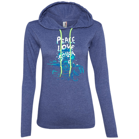 Image of Peace Love Scuba Hoodies