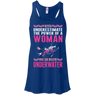 Never Underestimate The Power Of A Woman Who Can Breathe Underwater Tank Tops and V- Necks