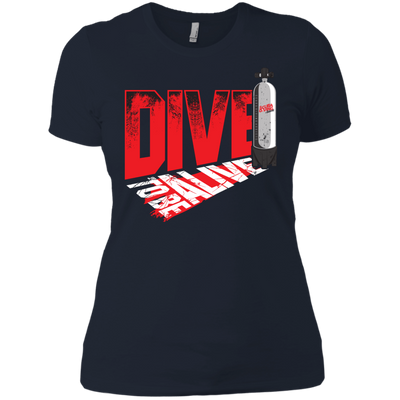 Dive To Be Alive Ladies Tees and V-Neck