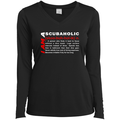 Image of I Am A Scubaholic Long Sleeves - scubadivingaddicts