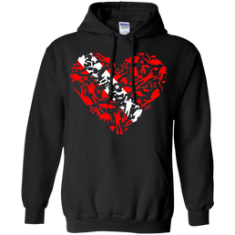 Scuba Heart Hoodies