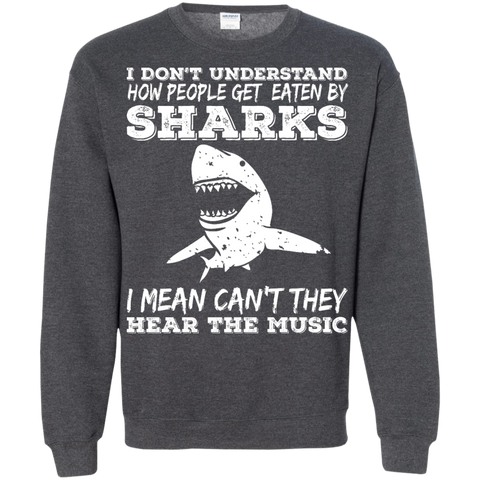 Image of Can't They Hear The Music Long Sleeves - scubadivingaddicts