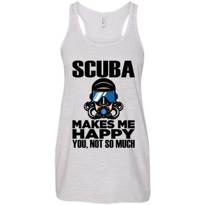 Scuba Makes Me Happy Tank Tops