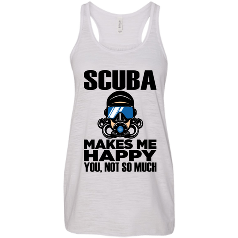 Image of Scuba Makes Me Happy Tank Tops