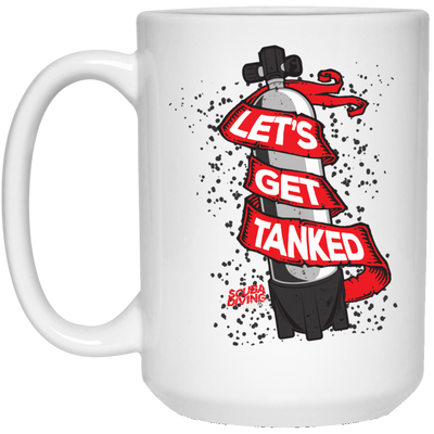 Let's Get Tanked White Mug