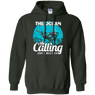 The Ocean Is Calling And I Must Go 2 -  Hoodies