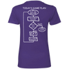 Today's Game Plan Ladies Tees