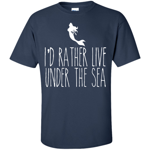 Image of I'd Rather Live Under The Sea Tees