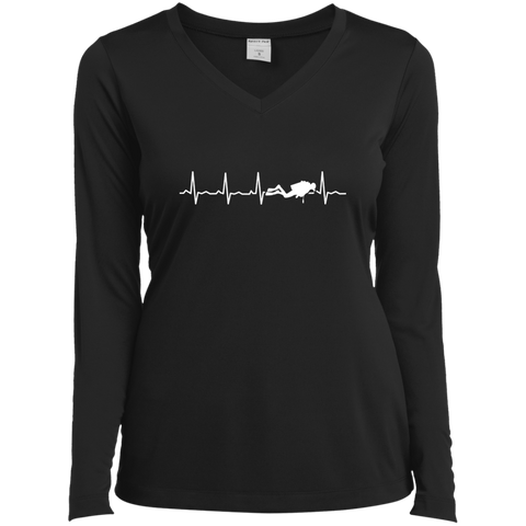 Image of Scuba Heartbeat Long Sleeves
