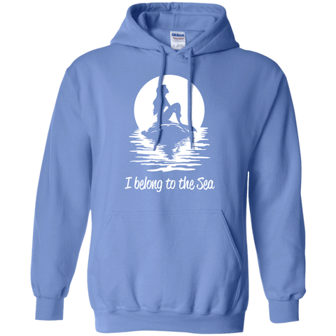 Image of I Belong To The Sea Hoodies - scubadivingaddicts