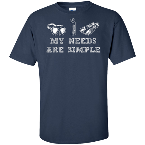 Image of My Needs Are Simple - Scuba Men's Tees and V-Neck