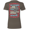 All Women Are Created Equal Then A Few Become Mermaids Tees - scubadivingaddicts