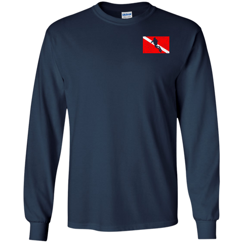Image of Scuba Diving Is Life Everything Else Is Surface Interval Long Sleeves