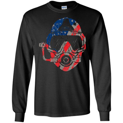Image of USA Scuba Diver Long Sleeves - scubadivingaddicts