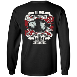 All Men Are Created Equal Long Sleeves and Hoodies - scubadivingaddicts