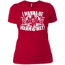 I Wanna Be Warm And Wet Ladies Tees and V-Necks
