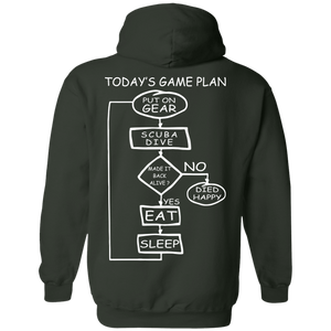 Today's Game Plan Hoodies