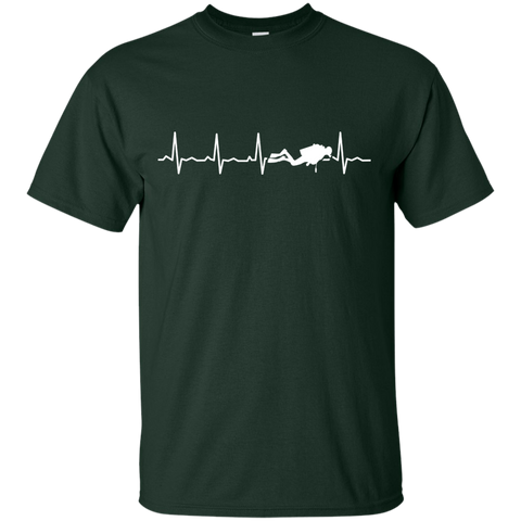 Image of Scuba Heartbeat Tees