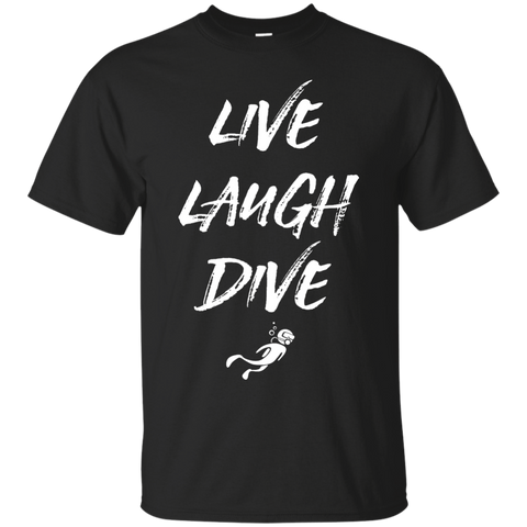 Image of Live Laugh Dive Men's Tees and V-Neck