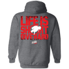 Life Is Short, Dive Hard Hoodies