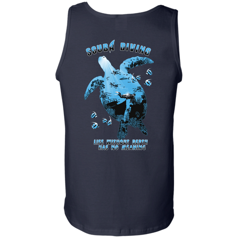 Image of Life Without Depth Has No Meaning Tank Tops