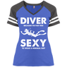 DIVER - Because I'm Far Too Sexy To Wear A Normal Suit - Ladies Tees and V-Neck