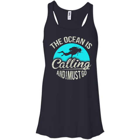 Image of The Ocean Is Calling And I Must Go Tank Tops
