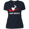 Just Dive It Ladies Tees and V-Neck