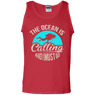 The Ocean Is Calling And I Must Go Tank Tops