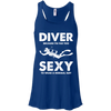 DIVER - Because I'm Far Too Sexy To Wear A Normal Suit - Tank Tops