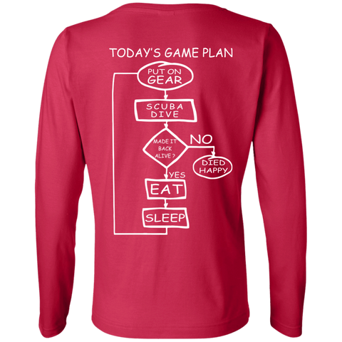 Image of Today's Game Plan Long Sleeves
