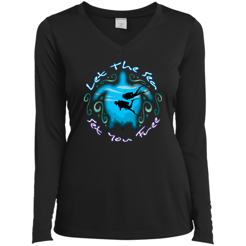 Image of Let The Sea Set You Free Long Sleeves