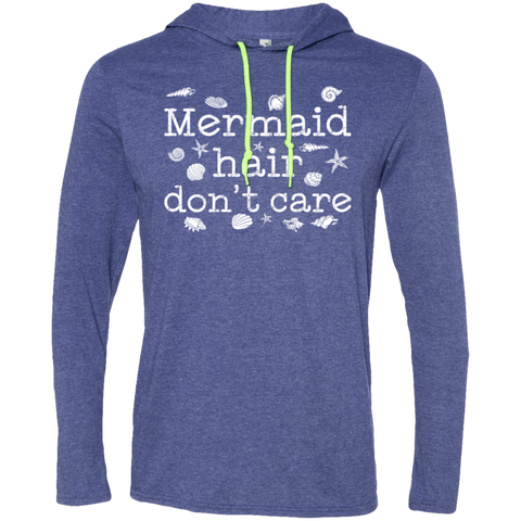 Mermaid Hair Don't Care Hoodies