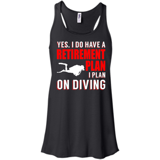 Yes, I Do Have A Retirement Plan, I Plan On Diving Tank Tops - scubadivingaddicts