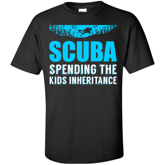 Scuba - Spending The Kids Inheritance Tees
