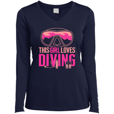 This Girl Loves Diving Long Sleeves