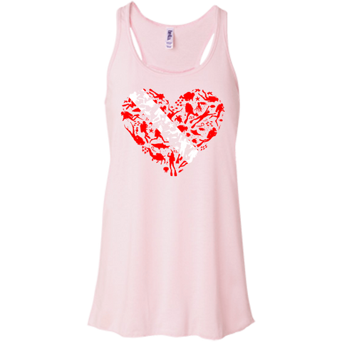 Image of Scuba Heart Tank Tops