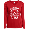 My Heart Belongs To A Diver Long Sleeves