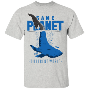 Same Planet - Different Worlds Tees