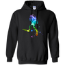 Scuba Colour Design Colourful Scuba Diver Hoodies
