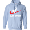 Just Dive It Hoodies