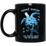 Life Without Depth Has No Meaning Black Mug