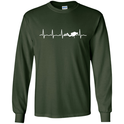 Scuba Heartbeat Long Sleeves