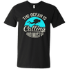 The Ocean Is Calling And I Must Go Tees