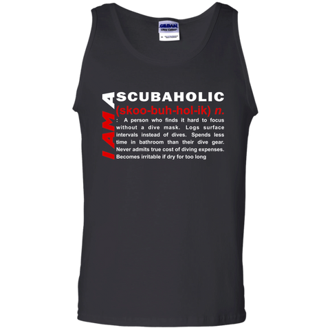 Image of I Am A Scubaholic Tank Tops - scubadivingaddicts
