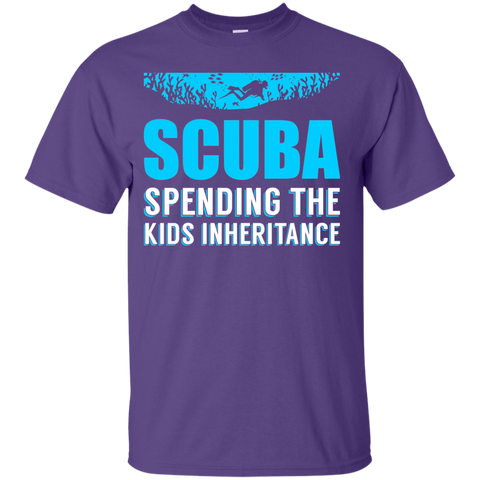 Image of Scuba - Spending The Kids Inheritance Tees